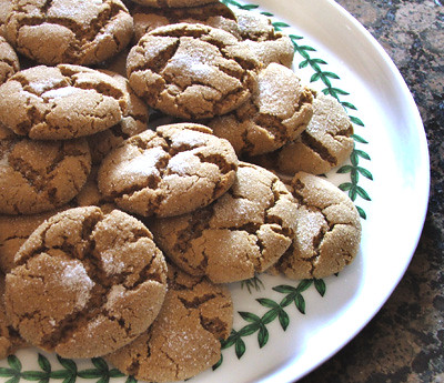 gingersnap cookies2