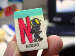 N for NEGRO