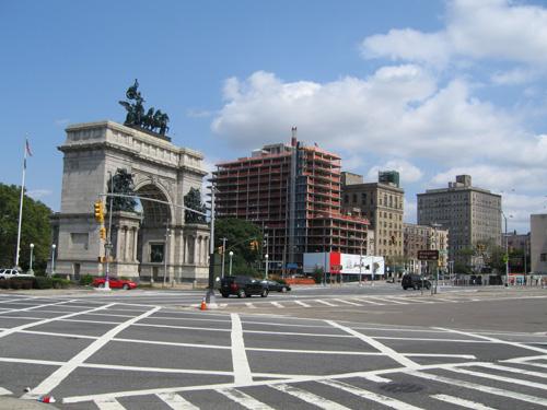 Grand Army Plaza September