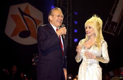 Donald Rumsfeld & Dolly Parton
