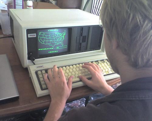 Vintiage 28lb Compaq Computer