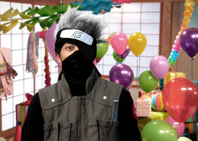 kakashi's surprise party!