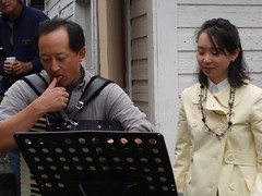 Todd Wong and Jessica Cheung