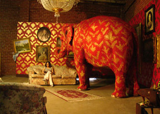 Banksy's Elephant