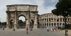 Image of Arch of Constantine from Panoramic Earth Rome Tour