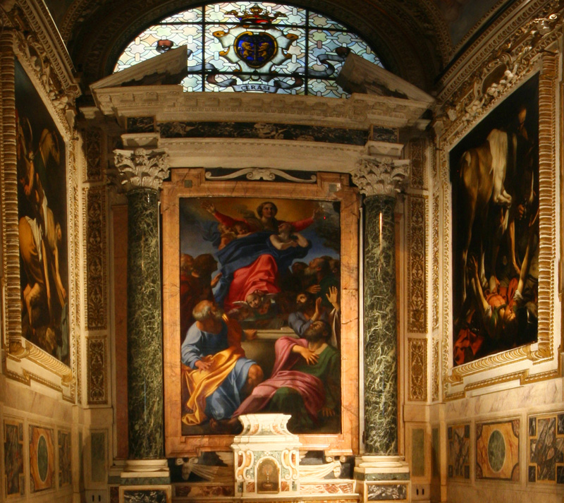 S Maria Del Popola - Cerasi Chapel