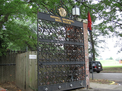 National Ornament Metal Museum Gate