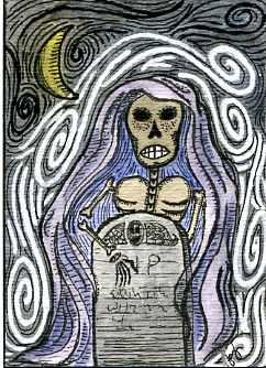 Tombstone ACEO