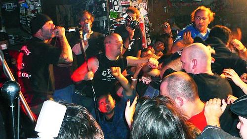 10-08 Agnostic Front @ CBGBs