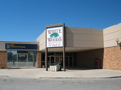 White Woods Mall, Northeast Entrance
