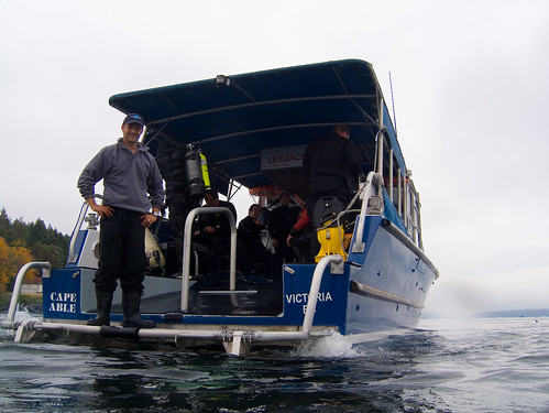 Cape Able dive boat