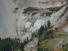 Zooming Into Upper Conrad Creek Waterfall