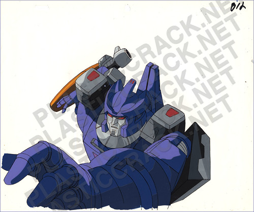 Deleted Scene Cel from Transformers The Movie