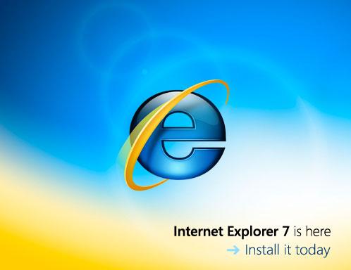 Internet Explorer 7: listo para usar