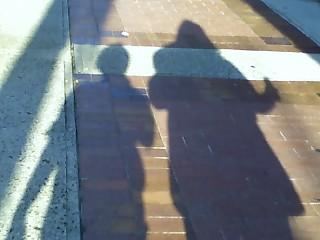 Just me and my shadow