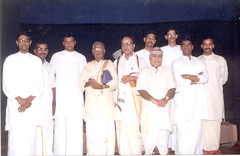 First_Mridangam_Thaniaavarthanam_Programme_Group