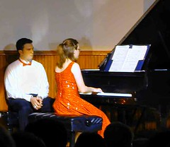 James O'Brien & Sharon David, pianists