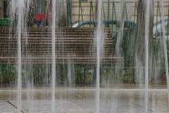 Jets d'eau sur Richard-Lenoir (14 octobre 2006)