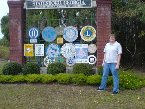 Me in Statesboro