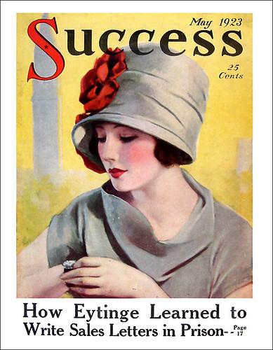 art deco success magazine cover may 1923. Black Bedroom Furniture Sets. Home Design Ideas