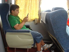 Sam on Bus
