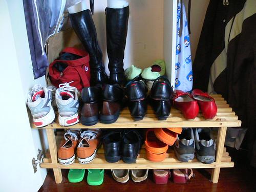 Shoes in situ
