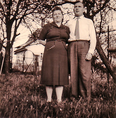 Oma and Opa in 1959
