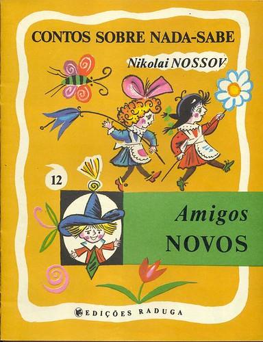 Boris Kalauchine, Amigos Novos, 1988 - cover