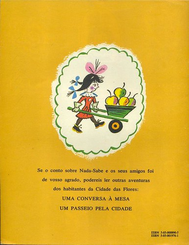 Boris Kalauchine, Amigos Novos, 1988 - back cover