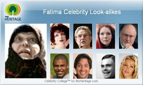 Fatima celebrity look-alikes