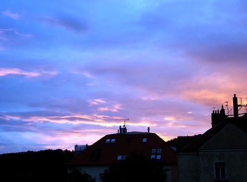 No Joke: The Sunrise As Seen From My Window In Prague
