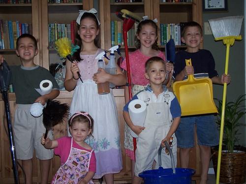 Happy Kids & Chores