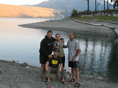 Timer picture at bottom of Wallowa Lake