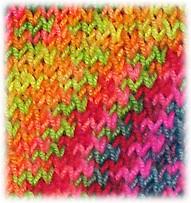 Detail of Slip Stitch Pattern