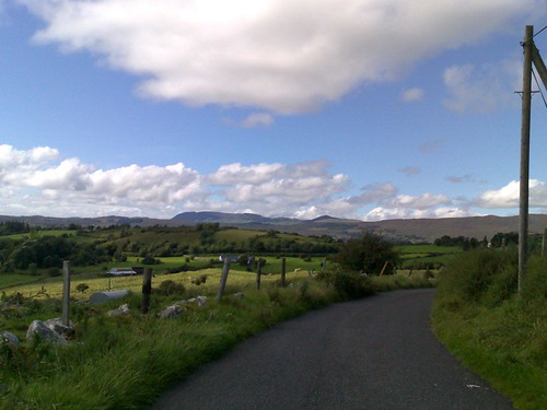 Looking out towards Sligo