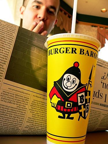 Palinode at the Burger Baron