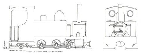 Freelance steam loco design