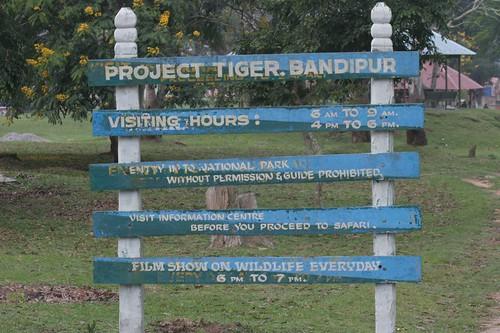 IMG_0454 Notice at Bandipur