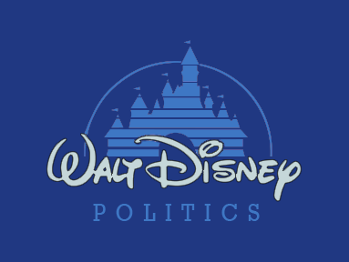 Disney Politics Logo Hack - colour