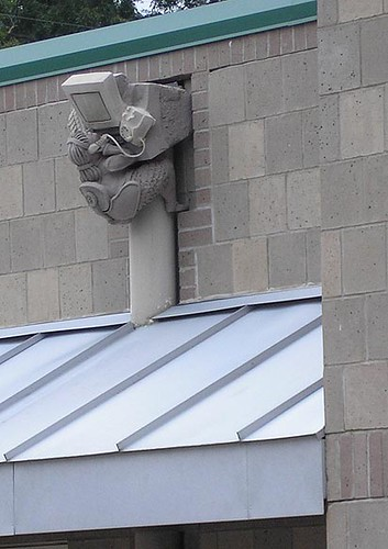 9/4/05: Zach Scott Theater Gargoyles I