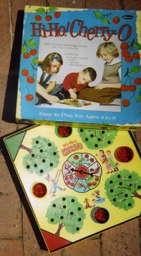 Vintage board game, 1960