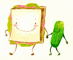 Sandwich and Pickle Friends