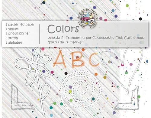 COLORS - designer: Alessia G. Tramontana