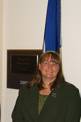 Me in front of Representative Davis' office