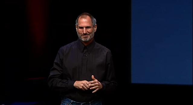 Steve Jobs fashion make over