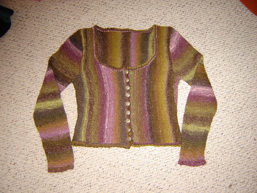 Silk Garden Sweater