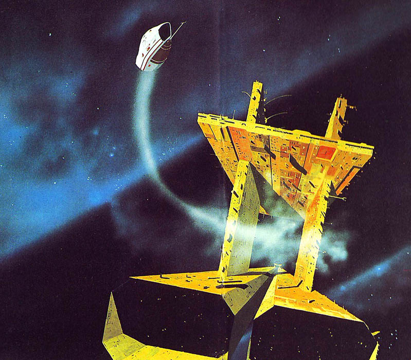 70s Sci Fi Art Chris Foss: Science Fiction And Fantasy Reading Experience: Poul