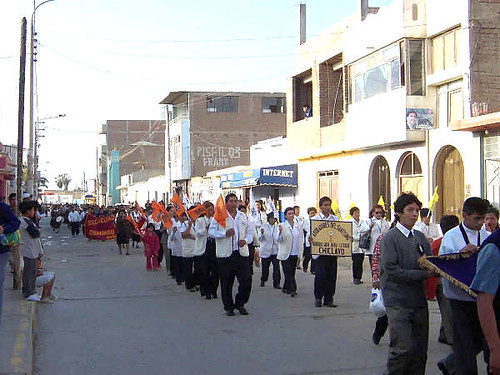 Desfile de Bandas