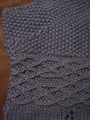 periwinkle top - closeup #1