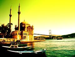 Bosphorus and Ortaköy Mosque - İstanbul